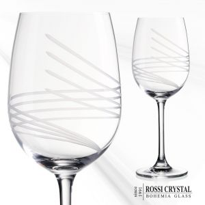 Fine cut red wine glass - Pharos Angelina 00