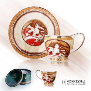 Porcelain Tea cup and saucer - Dance