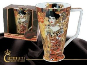 Porcelain mug big - Adela Bloch
