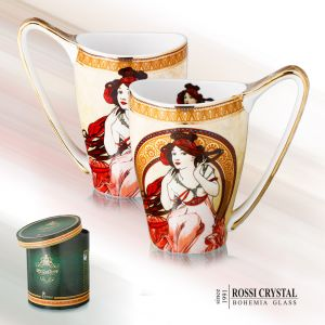Porcelain mug Big Vanessa - Music