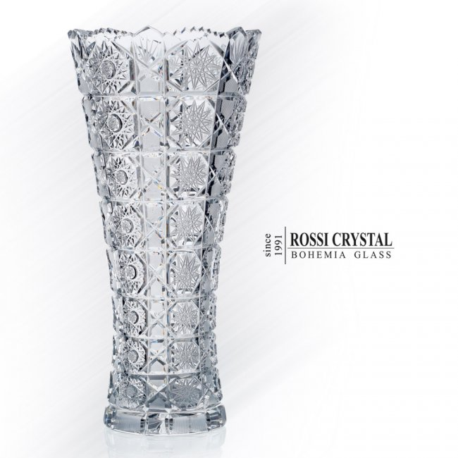 Crystal Glass Vase Maia Rossi Crystal Bohemia Glass