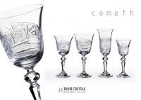 Fine cut glasses, Laura Cometh.