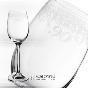 Wine goblet - 90 years anniversary