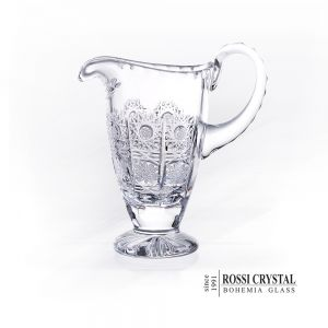 Fine cut glass creamer - traditional cut 500PK