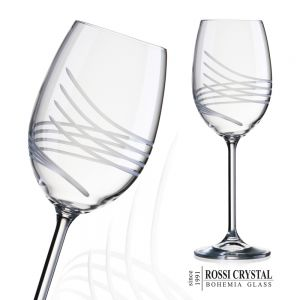 Pharos Viola 02, fine cut white wine glass