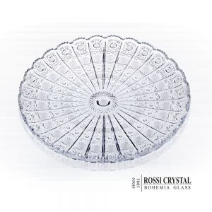 Fine cut plate round, traditional cut PK